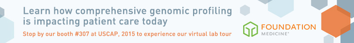 Foundation Medicine USCAP 2015 Virtual Lab Tour